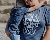 Mothers day gift, mom and son shirts, first Mother 39 s Day gift, Mother 39 s Day gift from son, boy mom shirt, mommy and son shirts, matching
