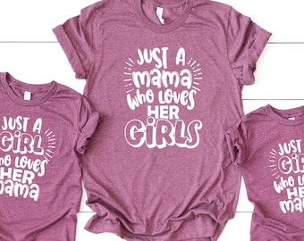 Cute Graphic Designed Tees Mommy And Me Tees Mother/'s Day T-Shirts Mother And Daughter Matching T-Shirts Perfect Gift Idea