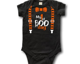 Halloween baby boy - Baby Halloween costume boy - 1st halloween boy - first halloween baby boy - Infant halloween outfit - Newborn halloween