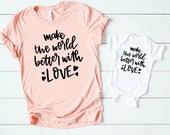 Mommy and me valentine shirts - Matching son and mother - Matching mom and daughter - xoxo - Sweet mommy and me matching shirts for son