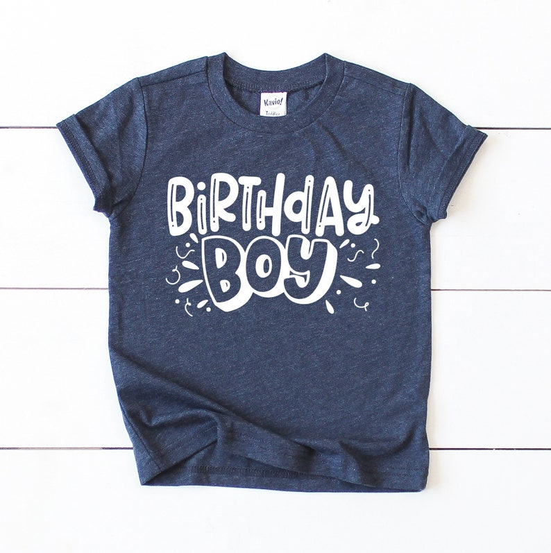 Boy Birthday Shirt 2 1st