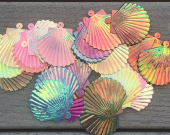 200pcs Seashell Sequins Mermaid Costume Sewing Craft Embellishments