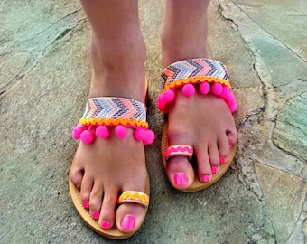 d98cb2adca7d1 FREE SHIPPING Colorful Sandals