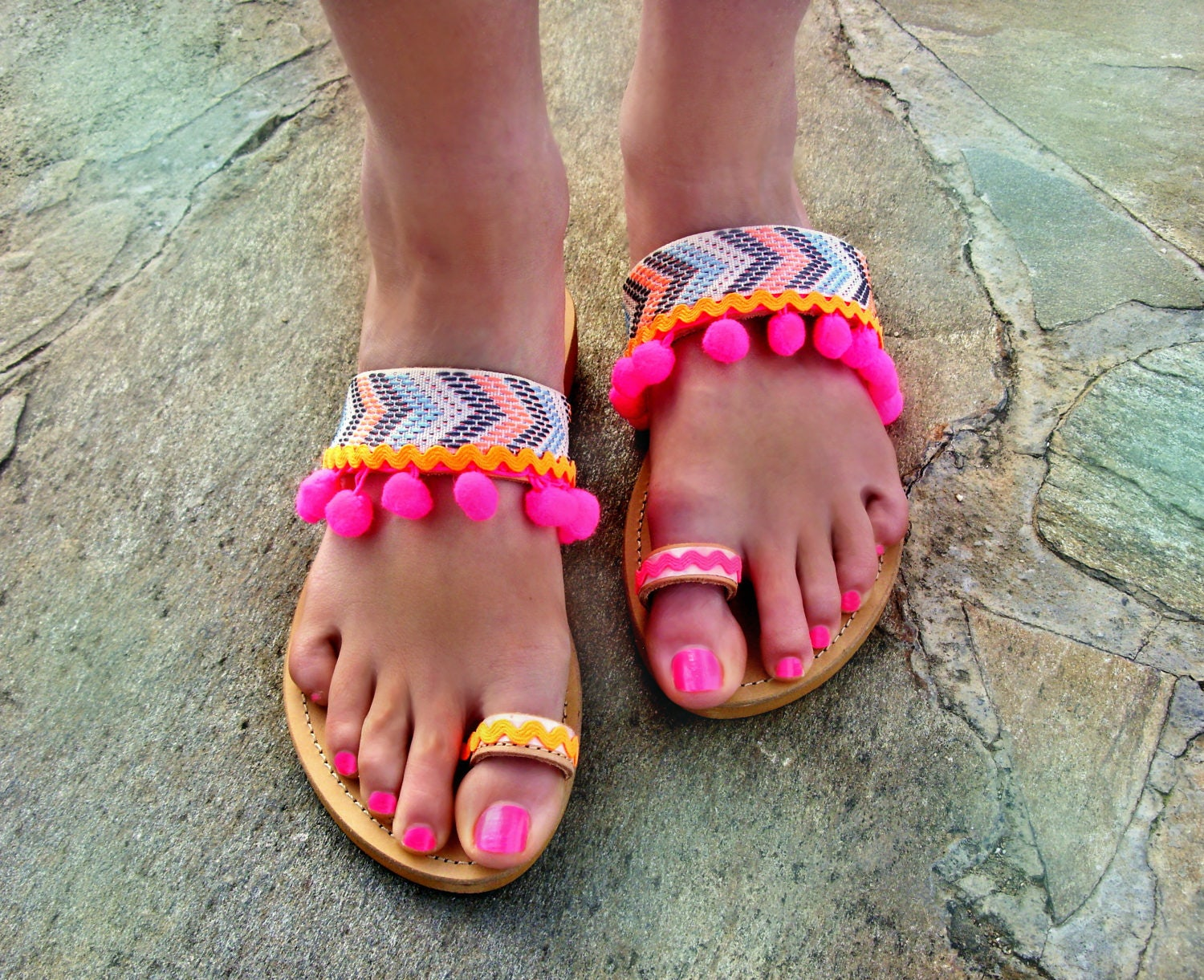 fc99d98ffcd70b FREE SHIPPING Colorful Sandals