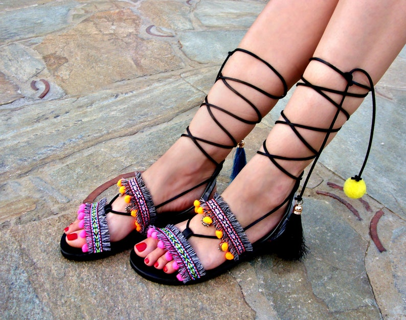 e5f64a804c3e13 FREE SHIPPING Boho Gladiator Sandals