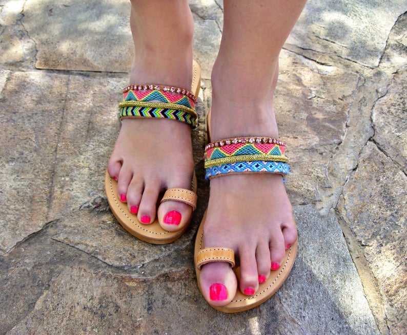 8352bcb922ed66 FREE SHIPPING Boho Sandals