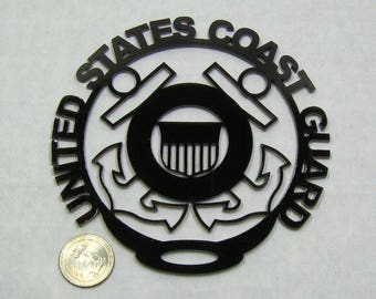 Coast Guard, Made in USA, USCG Ornament, US Coast Guard, Military Ornament, Armed Forces, Christmas ornament, Tree ornament