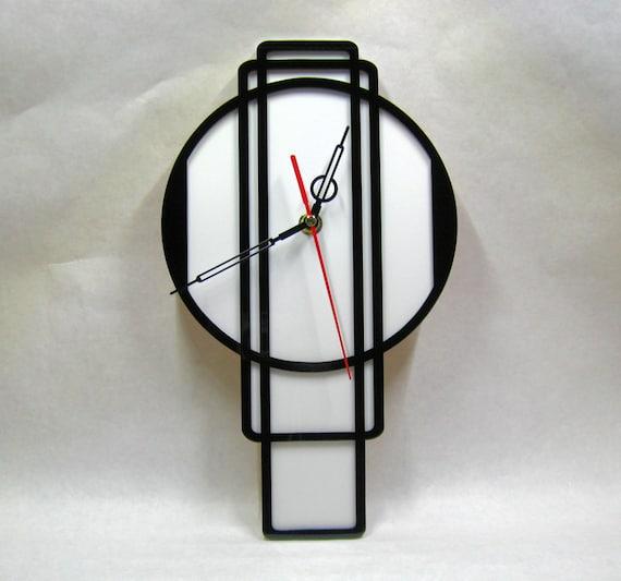 Art Deco Wall Clock 07 Art Deco Wall Clock 30s Clock Made Etsy