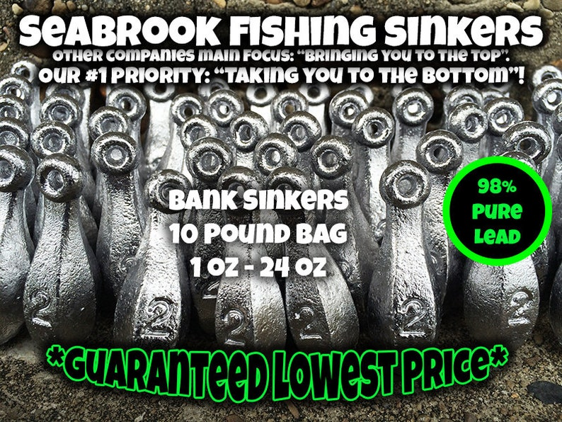 20 Egg Slip Sinkers 2 oz fishing weights FAST FREE SHIPPING