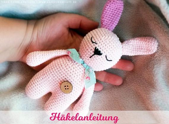 gratis Hase häkeln // Osterdeko + Amigurumi | 419x570