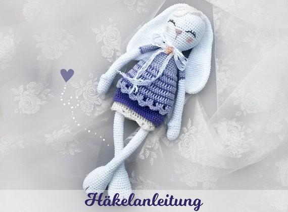 Häkelanleitung Für Süße Hasendame Hase Häkeln Anleitung Etsy