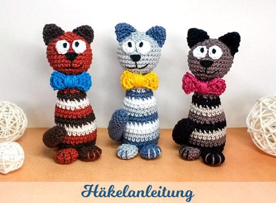 Häkelblog - Häkelanleitungen: Kleine Katze - Häkelanleitung   419x570