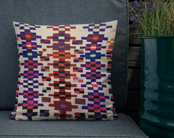 Moroccan Pillow style pattern berber inspiration vintage and bohemian