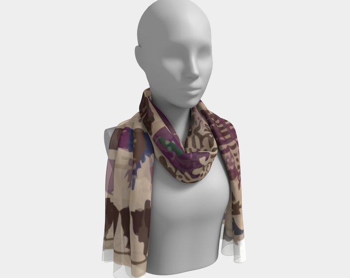 vintage bohemian scarf Moroccan and berber inspiration