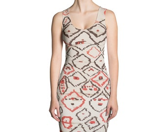 Ethnic berber pattern inspired Dress
