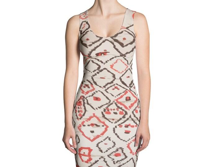 Ethnic berber pattern inspired Dress