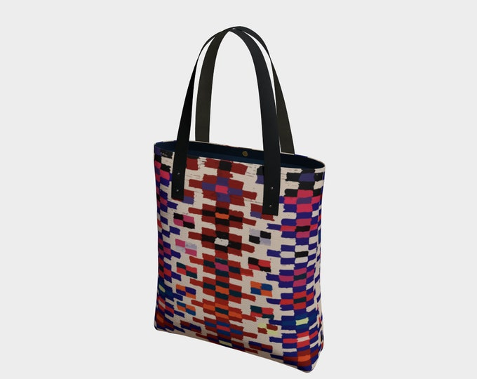 Bohemian style tote bag Moroccan and berber inspiration