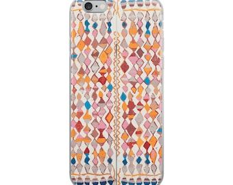 Original design iPhone Case with berber patterns