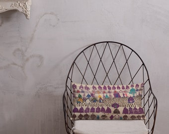 Moroccan Pillow purple berber pattern inspiration vintage and bohemian