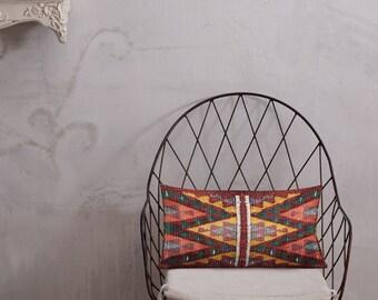 Premium Moroccan Pillow berber style red