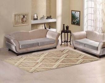 Moroccan rug inspiration -  Berber bohemian pattern Area Rug 10'x3'3''