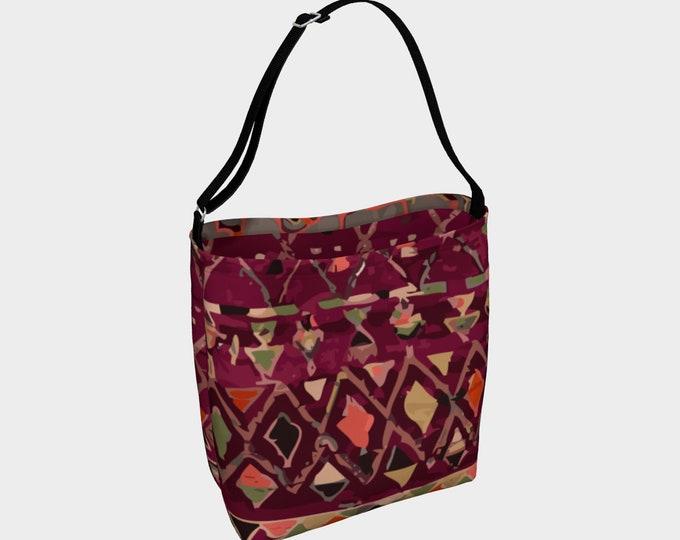 Moroccan vintage bag  purple color berber inspired and vintage