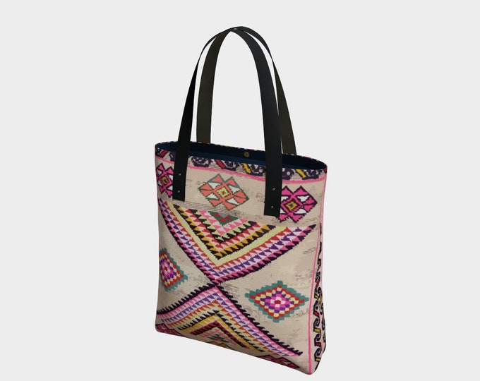 Bohemian vintage totebag berber and Moroccan style inspiration