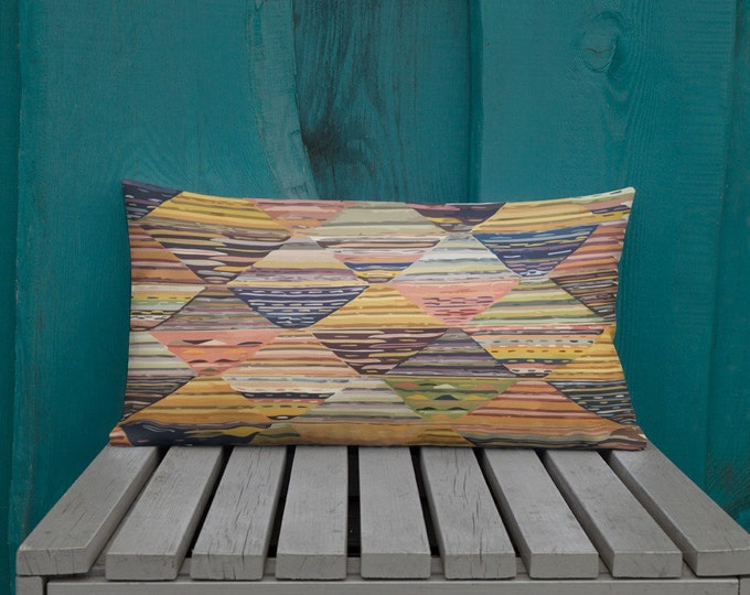 Moroccan Pillow original berber design inspiration bohemian and vintage