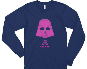 Best mom darth vader star wars Long sleeve t-shirt (unisex)