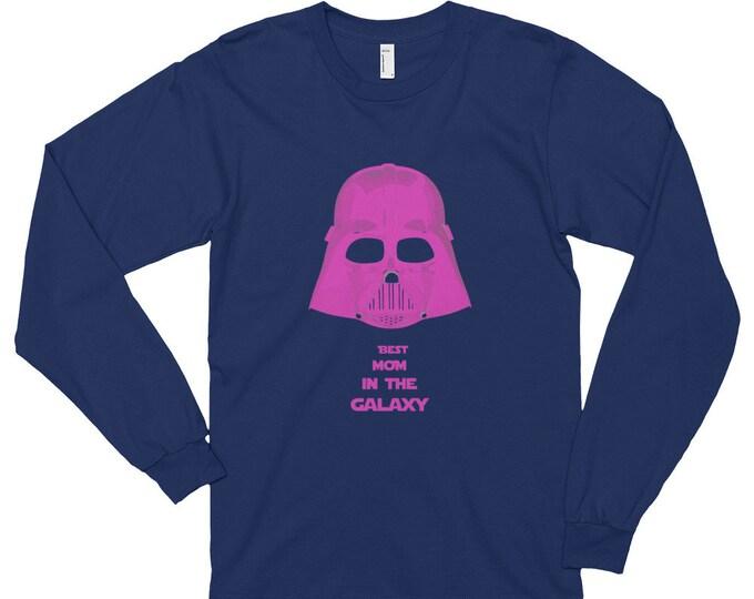Best mom darth vader star wars Long sleeve t-shirt (unisex)