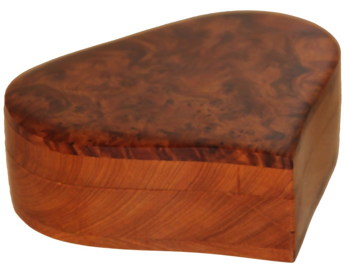 Coffret marocain en bois de thuya artisanal et fait main