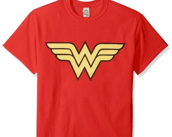 b7a94220306 Wonder Woman Graphic Tshirt - Woman - Girls - Youth Tshirt