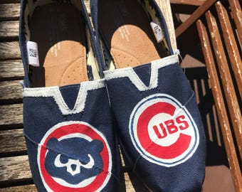 be7b1033078 Chicago cubs shoes | Etsy