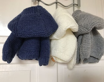 0b1dc8eb3 Knitted baby jacket