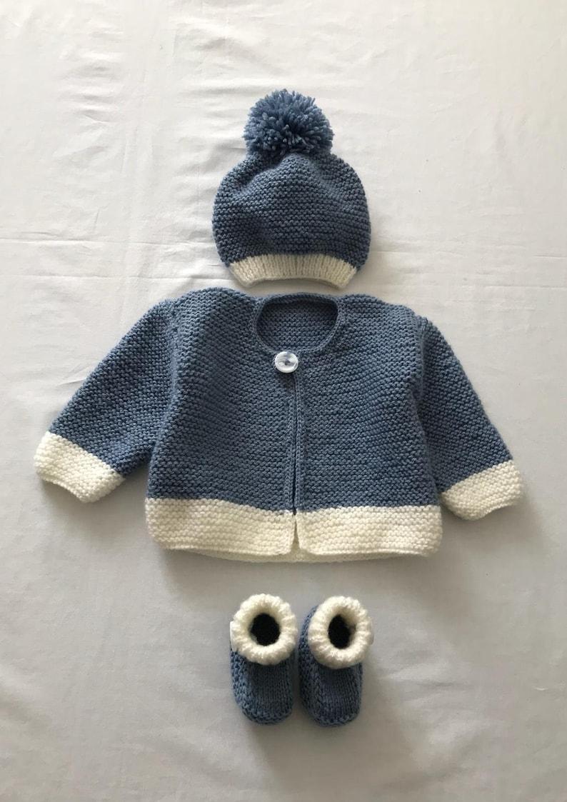 Handmade 0-3 Months Unisex Cardigan Girls' Clothing (newborn-5t)