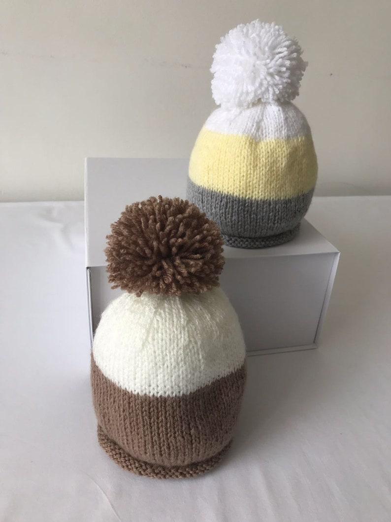 bc0bf56f3aa Baby girl boy unisex hats Preemie Premature newborn baby gift