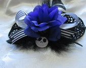 Nightmare Before Christmas inspired  hair slide/clip/barrette. Goth/ Gothic/ hair accessory