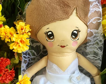 Custom look a like Bride doll (made to order)