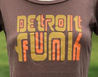 Detroit Funk Tee Shirt Size Small