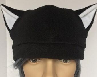 Fleece Neko Cat Ear Cosplay Beanie