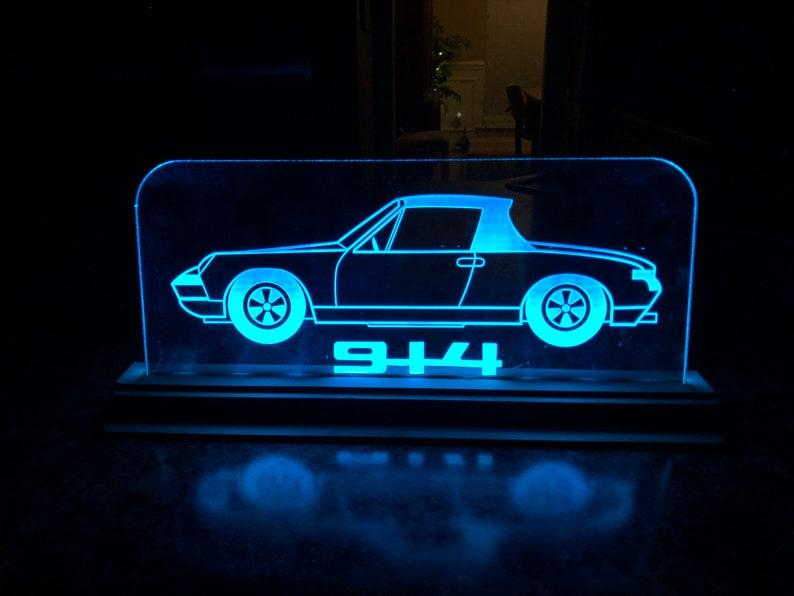 Edge Lit Acrylic LED 914 Display