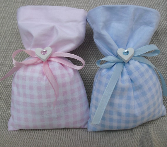 souvenir white heart bag events Bag colored fabric acrylic diamond baptism,ceremony,mark place,pink gift,blue