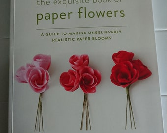 Book paper metal and stitch by maggie grey and jane wild for etsy the exquisite book of paper flowers by livia cetti mightylinksfo