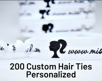 CUSTOM HAIR TIES