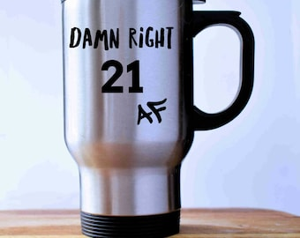 Twenty One Year Old 21 Birthday Idea 21st Mug Gift For Her Years Female