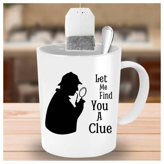 Citation de tasse de Sherlock Holmes, Cool Mugs, tasses à café drôles, sarcastiques, cadeau Gag, Carpe Diem, littéraire Mug, tasse d'amusement,