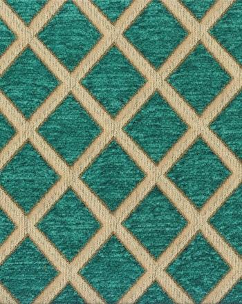 Tissus d'ameublement, tissu du Rideau, Chenille diamant, tissu toscan damassé/Jacquard Turquoise, Geo toscan tissu tissu, tissu, tissu Yard/Half Yard c84e13