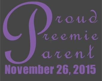 Proud Preemie Parent