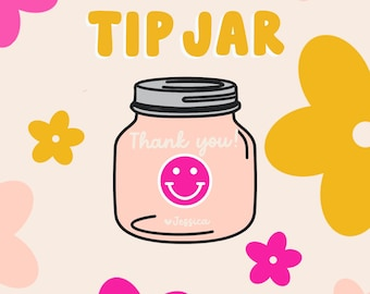 Tip Jar - Not Required! Just a little thank you to the artist & always appreciated!