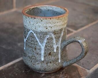 Ceramic Coffee Cup, Handmade Ceramic Mug, Ceramic Mug, Coffee Mug, Gift Idea, 16 oz
